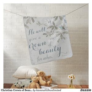 Crown of Beauty Baby Blanket
