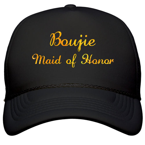 BOUJIE  BRIDAL  PARTY Customizable Trucker Cap