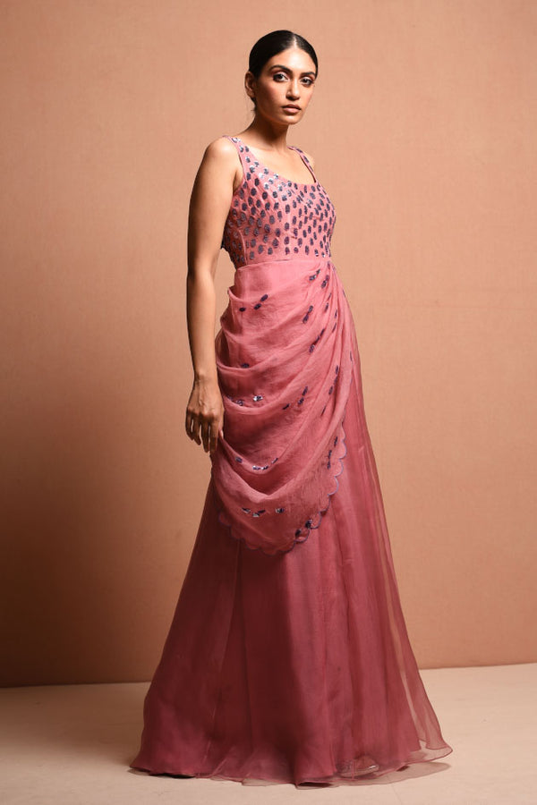 RADIALWRAP saree gown