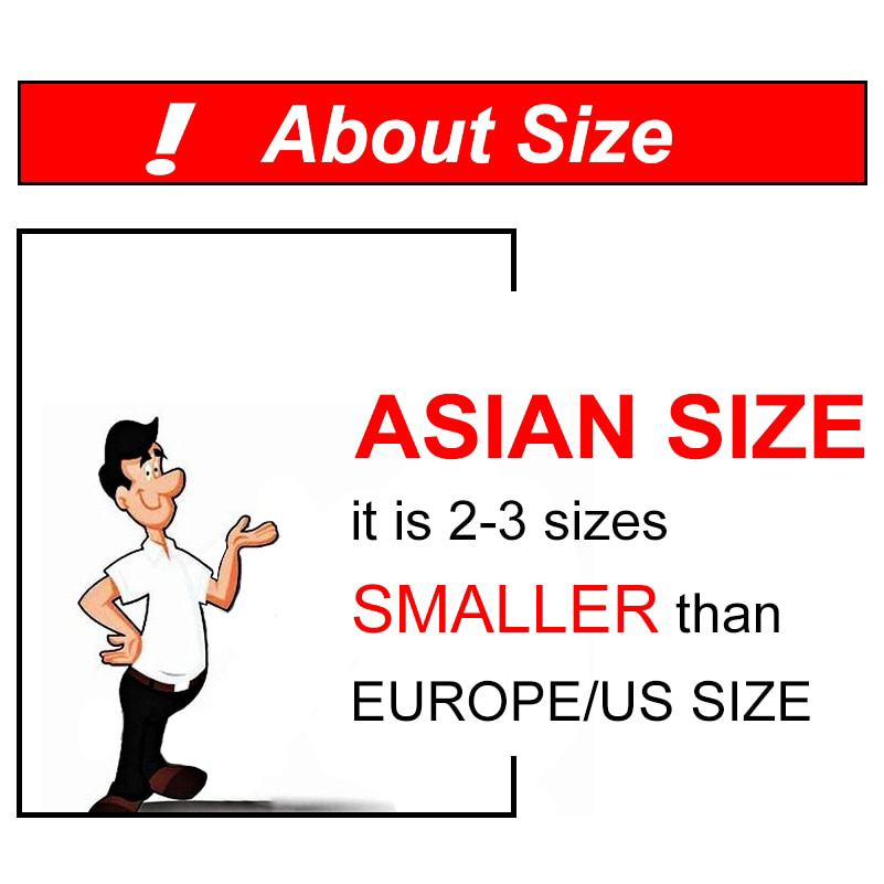 About Asian Clothing Size