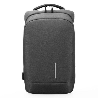 USB Charging Anti-Theft Smart Backpacks Dark Grey / 15 Inches - Everyday Backpacks | MegaMallExpress.com