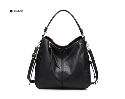 Women Large Hobo Shoulder Totes black / 35 x 13 x 28 cm - Women Handbags & Purses | MegaMallExpress.com