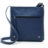 Women's Leather Satchel Bags Blue / 23 x 5 x 25 cm - Women Handbags & Purses | MegaMallExpress.com