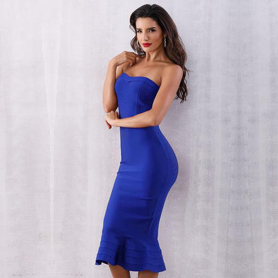 2019 Sexy Strapless Party Dresses  - Women Dresses | MegaMallExpress.com
