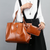 Women's Vintage Shoulder Bags with Matching Purse