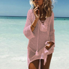 Women Crochet Knitted Bikini Cover Up WC0360P1 / One Size - Women Swimwear & Cover Ups | MegaMallExpress.com