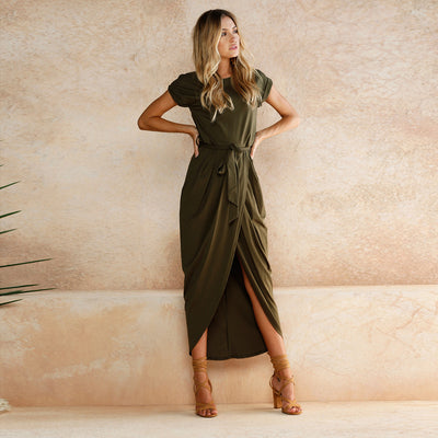 Women Slit Maxi Dress  - Women Dresses | MegaMallExpress.com