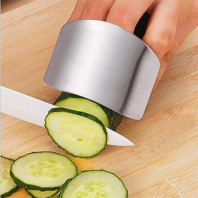 Stainless Steel Finger Guard Protection Kitchen Tool  - Trending Products | MegaMallExpress.com
