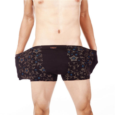 Stretch Underwear for Men Black 1357heise / 6XL - Men Underwear | MegaMallExpress.com