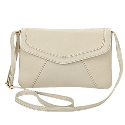 Women Small Crossbody Purse Beige / 25 x 17 cm - Women Handbags & Purses | MegaMallExpress.com