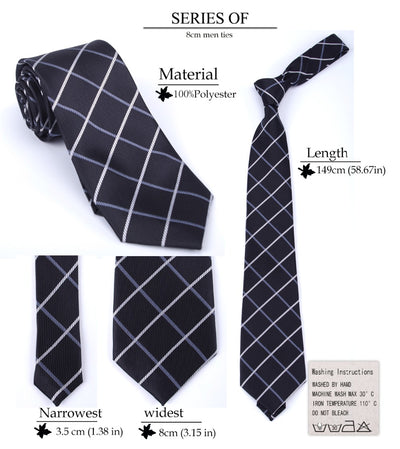 Men Business Fashion Ties  - Men Ties & Accessories | MegaMallExpress.com