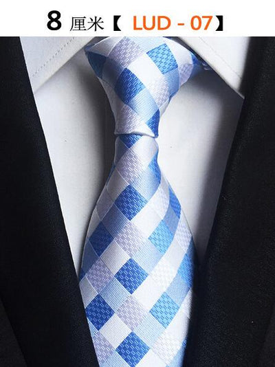 Modern Men Silk Ties Blue 07 - Men Ties & Accessories | MegaMallExpress.com
