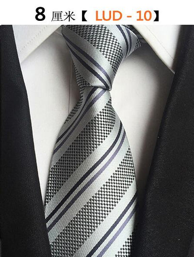 Modern Men Silk Ties Gray 10 - Men Ties & Accessories | MegaMallExpress.com