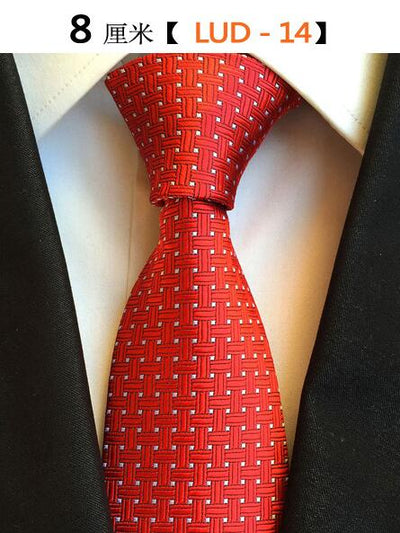 Modern Men Silk Ties Red 14 - Men Ties & Accessories | MegaMallExpress.com