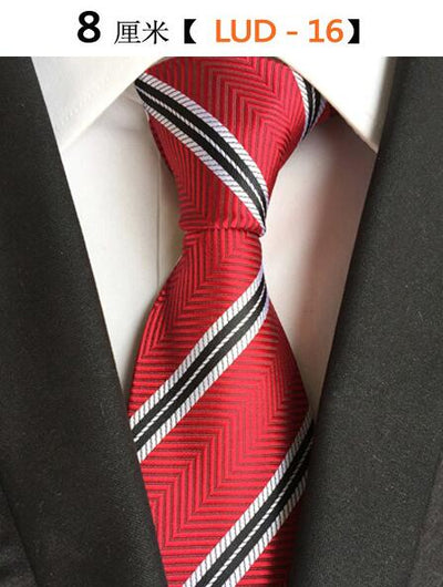 Modern Men Silk Ties Red 16 - Men Ties & Accessories | MegaMallExpress.com