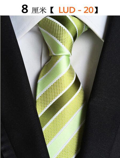 Modern Men Silk Ties Green 20 - Men Ties & Accessories | MegaMallExpress.com