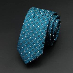 Modern Neck Ties Blue 01 - Men Ties & Accessories | MegaMallExpress.com