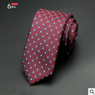 Modern Neck Ties Red 03 - Men Ties & Accessories | MegaMallExpress.com