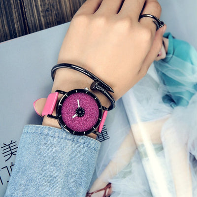 Women Leather Strap Wristwatch 4 - Women Watches | MegaMallExpress.com