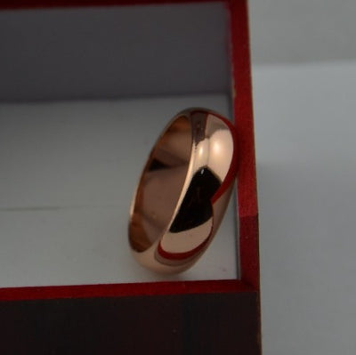 Rose Color Wedding Ring  - Wedding & Engagement | MegaMallExpress.com