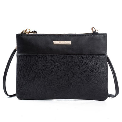 Women Fashion PU Leather Handbags black new / (20cm<Max Length<30cm) - Women Handbags & Purses | MegaMallExpress.com