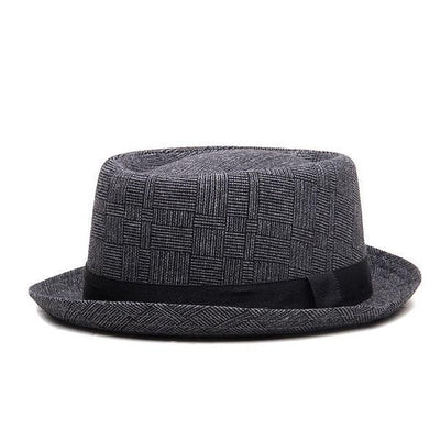 The Jazz Fedora Dark Gray - Men Hats & Caps | MegaMallExpress.com