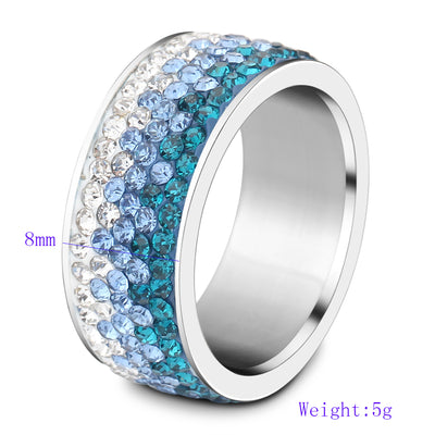 Crystal Ring  - Formal Rings | MegaMallExpress.com