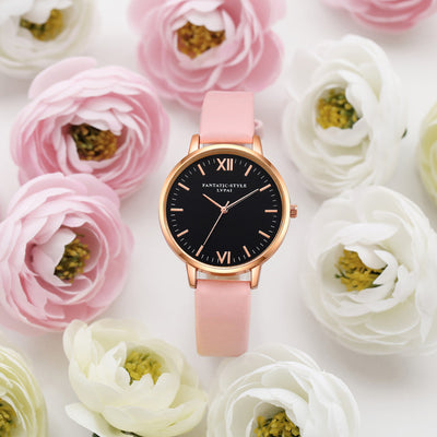 Women Gold Color Large Face Watch  - Women Watches | MegaMallExpress.com