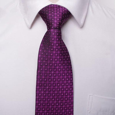 Men Business Fashion Ties Red 02 - Men Ties & Accessories | MegaMallExpress.com