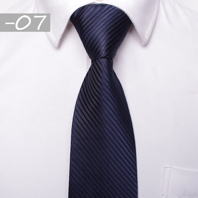 Men Business Fashion Ties Black 07 - Men Ties & Accessories | MegaMallExpress.com