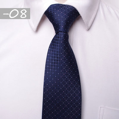 Men Business Fashion Ties Black 08 - Men Ties & Accessories | MegaMallExpress.com