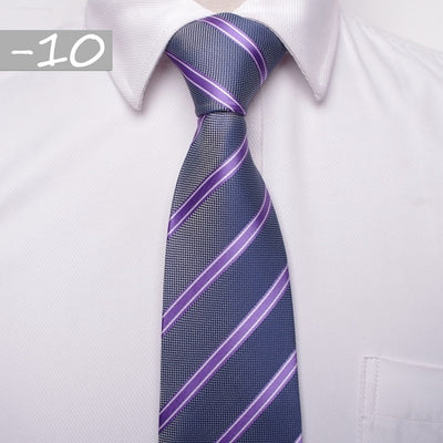 Men Business Fashion Ties Blue 10 - Men Ties & Accessories | MegaMallExpress.com