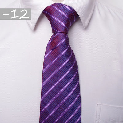 Men Business Fashion Ties Red 12 - Men Ties & Accessories | MegaMallExpress.com