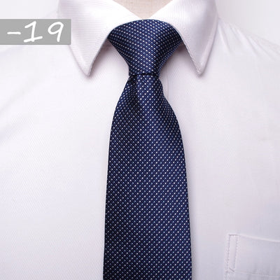 Men Business Fashion Ties Dark Blue 19 - Men Ties & Accessories | MegaMallExpress.com