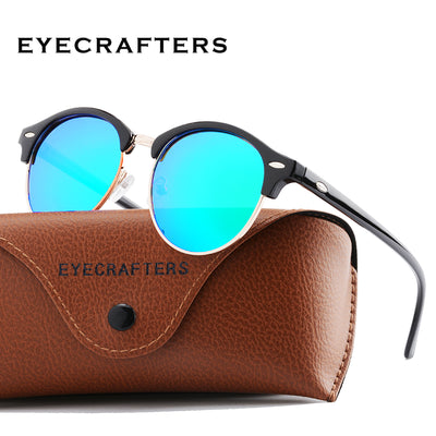 Unisex Polarized Round Sunglasses  - Men Sunglasses | MegaMallExpress.com