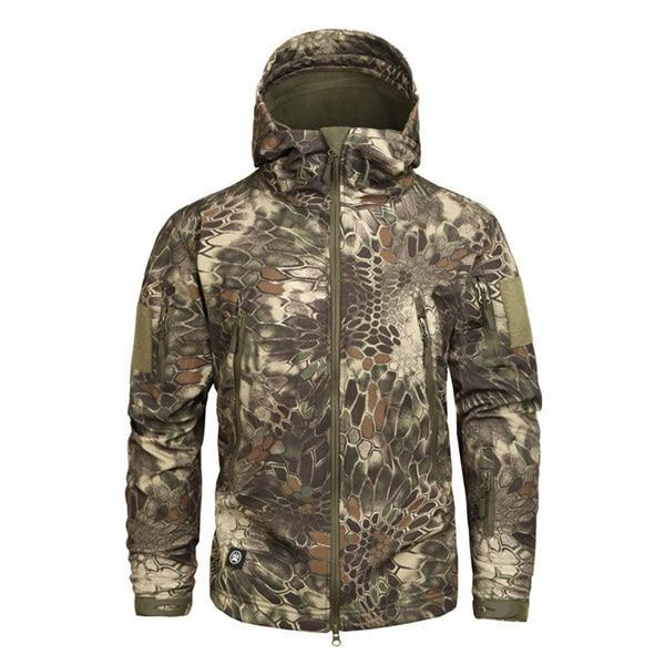 f51e8290ee72b Men's Military Camouflage Jacket of Durable Polyester - Men Jackets &  Coats | MegaMallExpress.
