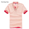 Polo T-Shirts pink Rose red / XXXL - Men Tops & Tees | MegaMallExpress.com