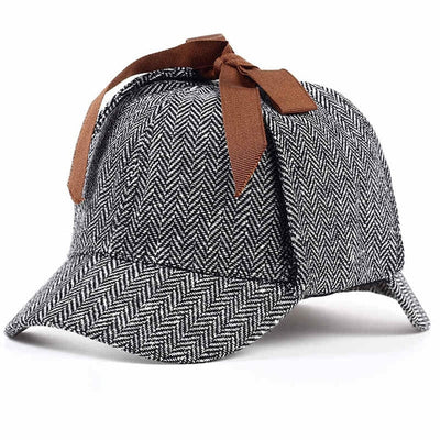 Unisex Sherlock Holmes Hat Dark Grey - Men Hats & Caps | MegaMallExpress.com