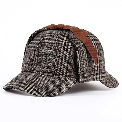Unisex Sherlock Holmes Hat Brown - Men Hats & Caps | MegaMallExpress.com