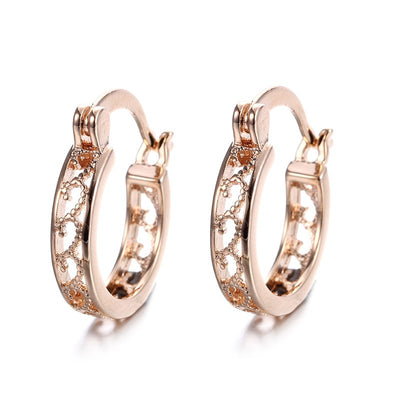 Small Hoop Earrings Gold - Earrings | MegaMallExpress.com