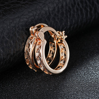 Small Hoop Earrings  - Earrings | MegaMallExpress.com