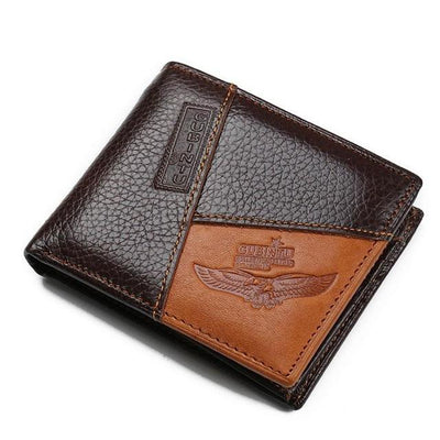 Men Leather Wallets with Coin Pocket Type1 better - Men Wallets | MegaMallExpress.com