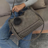Best Nubuck Leather Top-Handle Shoulder Bags For Women  - Women Handbags & Purses | MegaMallExpress.com
