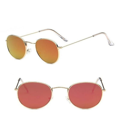 Women Classic Round Sunglasses Red - Women Sunglasses | MegaMallExpress.com