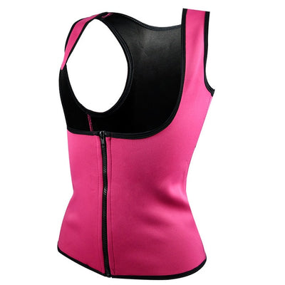 Neoprene Slimming Vest rose / XXXL - Women Shapewear | MegaMallExpress.com