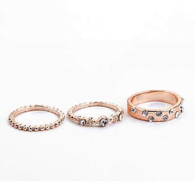 Elegant Crystal Ring Set  - Casual Rings | MegaMallExpress.com
