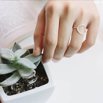 Karma Circle Ring  - Formal Rings | MegaMallExpress.com