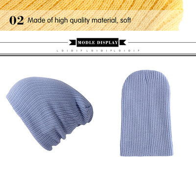 Solid Colors Bonnet  - Women Socks & More | MegaMallExpress.com