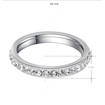 Small CZ Ring  - Formal Rings | MegaMallExpress.com