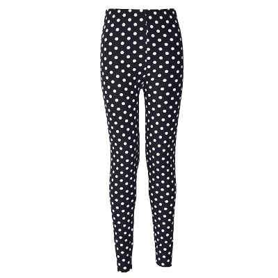 Women Printed Pattern Leggings B24 / One Size - Women Bottoms | MegaMallExpress.com